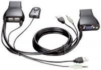 Переключатель KVM D-Link KVM-221 2-Port / VGA+USB