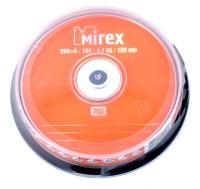 Диск DVD-R Mirex 4.7 Gb, 16x, Cake Box 10шт