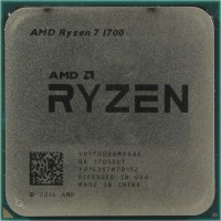 Процессор AMD Ryzen 7 1700 (YD1700B) 3.0 GHz / 8core / 4+16Mb / 65W Socket AM4 (OEM)