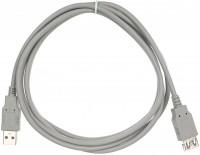 Кабель USB A -> A 1.8м VCOM CU202-G (удлинительный)