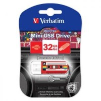 Флешка USB 32Gb Verbatim Mini Cassette Edition