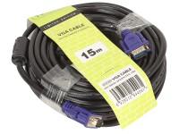 Кабель VGA-M -> VGA-M 15.0м TV-COM (QCG120H-15M)