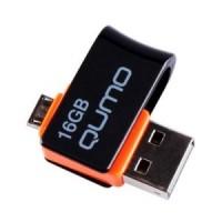 Флешка USB 16Gb Qumo HYBRID