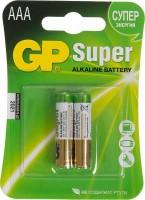 Элемент питания GP Super Alkaline 24A LR03 AAA (2шт)