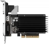 Видеокарта NVIDIA GeForce GT 710 1Gb Palit <PA-GT710-1GD3H> GDDR3 64B D-Sub+DVI+HDMI (OEM)