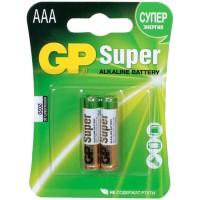 Элемент питания GP Super Alkaline 24A LR03 AAA (4шт)