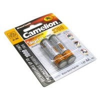 Аккумулятор AA 2700 mAh уп.2шт. Camelion <NH-AA2700BP2> (1.2V, NiMH)