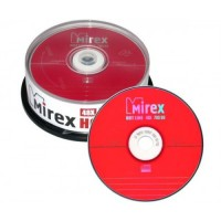 Диск CD-R Mirex 700Mb 48x Cake Box  (25шт)