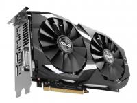 Видеокарта AMD Radeon RX 580 4Gb Asus <RX580-4G-S> GDDR5 256b DVI (OEM)