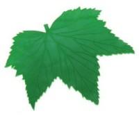 Коврик противоскользящий - кленовый лист,19х19см