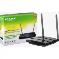 Маршрутизатор TP-LINK Archer C50 802.11ac / 433Mbps / 2,4GHz-5GHz / 4UTP-10 / 100Mbps / 1WAN / 2x5dBi