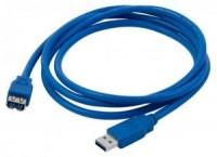 Кабель USB A -> A 1.8м NoName (удлинительный)
