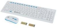 Комплект беспроводной Defender Skyline 895 White (Кл-ра,USB,FM+Мышь,4кн,USB,Roll)