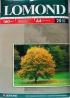 Фотобумага A4, глянцевая, 160г / м2, 25 листов, Lomond (0102079)