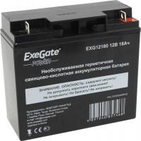 Аккумулятор ИБП Exegate EXG12180 (12V, 18Ah)