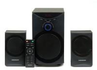 Колонки Nakatomi GS-25 (2x8Вт+SUBx12Вт / 20Гц–20кГц / USB / SD / FM / ПДУ)
