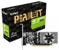 Видеокарта NVIDIA GeForce GT 1030 2Gb Palit 64bit GDDR5 (DVI+HDMI)