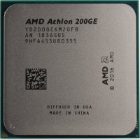 Процессор AMD 200GE AM4 (YD200GC6M2OFB) 3.2GHz / 2 / 100MHz / 35W (OEM)