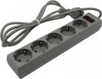 Сетевой фильтр 1.8м  Exegate SP-5-1.8 Grey