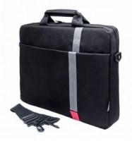 Сумка для ноутбука 15.6 PC Pet PCP-1001RD (полиэстер, черный)