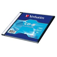 Диск CD-R Verbatim 700Mb Only disk (1шт)