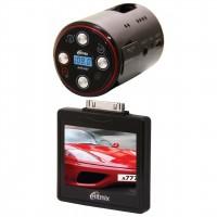 Авто видеорегистратор Ritmix AVR-697T 1280x720 / 30к / с / 130° / G-сенсор / FM-трансмиттер,MP3-плеер