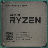 Процессор AMD Ryzen 5 2600 AM4 (YD2600BBM6IAF) 3.4GHz / 6core / 3+16Mb / 65W Socket AM4 (OEM)