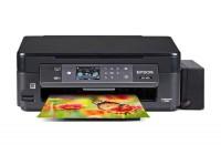 Принтер МФУ Epson XP-452+СНПЧ (A4  /  5760x1440dpi  /  10стр  /  4цв  /  струйный  /  WiFi)