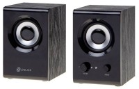 Колонки OKLICK OK-160 (2x3Вт / 100Гц–20кГц / jack3.5 / USB)