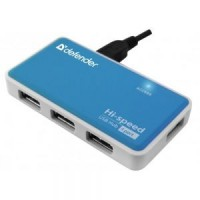 Концентратор USB2.0 Defender Quadro Power 83503 4-port