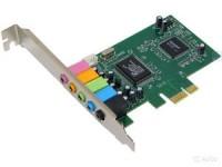 Звуковая карта PCI-E C-media CMI8738-LX OEM 6ch / 16бит / 44,1кГц