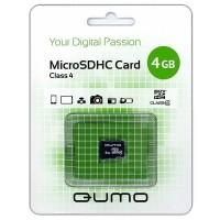 Флешка microSDHC 4Gb Qumo Class4