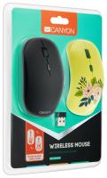 Мышь беспроводная USB CANYON CND-CMSW400DR 4btn+Roll / 1600dpi