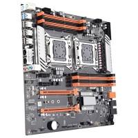 Материнская плата Kllisre X79 DUAL (RTL) LGA2011 <X79> 2xPCI-E+GbLAN+SATA ATX 4DDR3