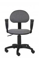 Кресло Бюрократ CH-213AXN / 10-128 (темно-серый)