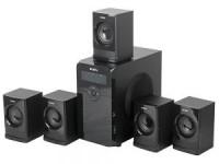 Колонки SVEN HT-200 (5x12Вт+SUBx20Вт / 40Гц–20кГц / 3x-jack3.5 / 220V)