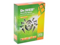 Антивирус Dr.Web Security Space Pro (2 ПК / 25 мес.) <BHW-B-24M-2-A3> (BOX)