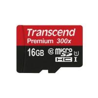 Флешка microSDHC 16Gb Transcend UHS-I