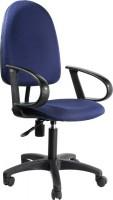 Кресло Бюрократ CH-1300 (синий / бордовый / серый)