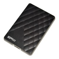 Внешний HDD 1Tb Silicon Power D06 <SP010TBPHDD06S3K> Black 2.5 USB3.0
