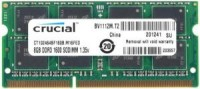 Память DDR3 SO-DIMM 4Gb <PC3-12800> Crucial <CT102464BF160B> CL11