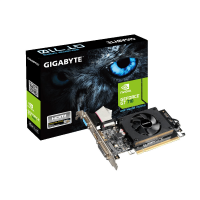 Видеокарта NVIDIA GeForce GT 710 1Gb Gigabyte GDDR3 64B DVI+HDMI (BOX)