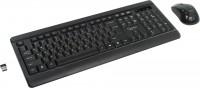 Комплект беспроводной Gembird KBS-8001 Black (Кл-ра, FM, USB+Мышь 4кн, Roll, FM, USB)