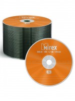 Диск DVD-R Mirex 4.7 Gb, 16x, Cake Box (50шт)