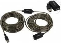 Кабель USB A -> A 5.0м Telecom <TUS7049-5M> (удлинительный активный)