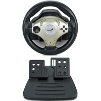 Руль Genius TwinWheel F1 Mini PC / PS3 / D-pad / 12btn / 2педали / Vibro