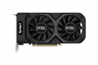 (Уценка) Видеокарта NVIDIA GeForce GTX 1050Ti 4Gb Palit <DUAL OC 4G NV> GDDR5 128b DVI+HDMI+DP