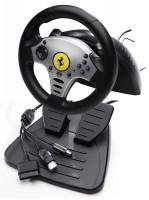 Руль ThrustMaster Universal Challenge Version PC / PS3 / D-pad / 11btn / 2рычага / 2педали / Vibro