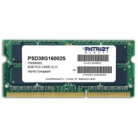 Память DDR3 SO-DIMM 4Gb <PC3-12800> Patriot <PSD34G160081S> CL11