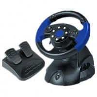 Руль DVTech Victory Wheel PC / PS3 / D-pad / 11btn / 2рычага / 2педали / Vibro